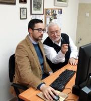 Каталогизиране на клиничния архив на проф. Кавлаков (ноември 2014)