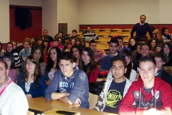 """Лекция с """"моите"""" испански студенти (февруари 2011)"""
