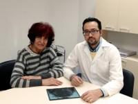 Обща снимка на д-р Заранкова и доц. Томов (декември 2014)